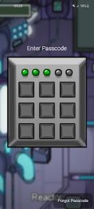 AmongLock Pro MOD APK – Among Us Lock Screen of Reactor Style 1