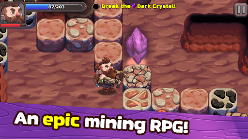 Mine Quest 2: RPG Roguelike u26cf Crash the Boss android2mod screenshots 1