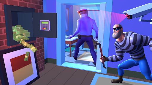 Robbery Madness: Stealth Master Thief Simulator android2mod screenshots 3