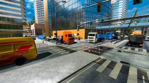 Euro truck simulator 2021: New truck driving games  screenshots 8