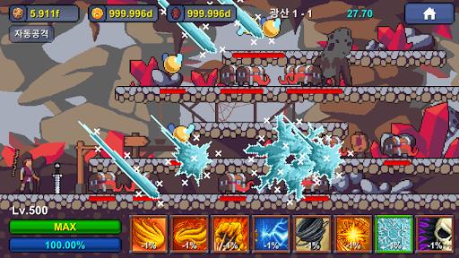 Grandpa RPG - Grow Pixel Wizard 1.1.19 screenshots 4