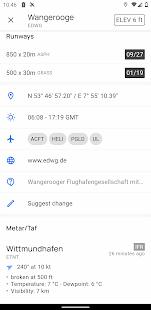 VFRnav flight navigation 3.9.2 screenshots 3