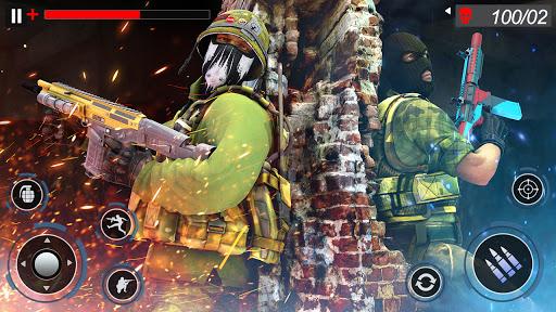 FPS Commando Secret Mission - Real Shooting Games apkpoly screenshots 13