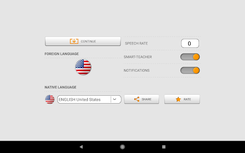 Learn American English words with Smart-Teacher Screenshot