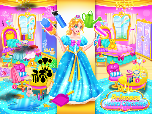 Princess Castle House Cleanup - Cleaning for Girls  screenshots 3