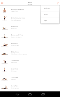 Yoga - Track Yoga Screenshot
