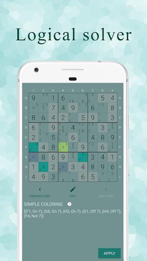 Ninja Sudoku - Classic & Killer Sudoku logic hint Apkfinish screenshots 6