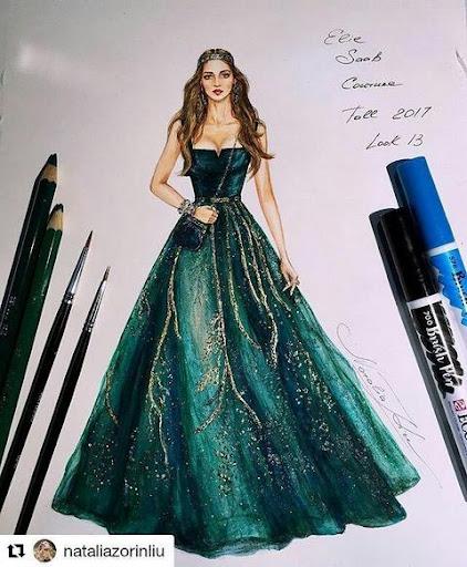 Creative Fashion Design Flat Sketch Ideas  Screenshots 10