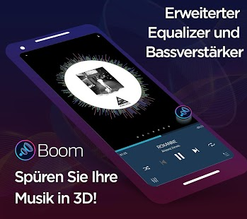 Boom: Musikplayer mit 3D Surround Sound und EQ Screenshot