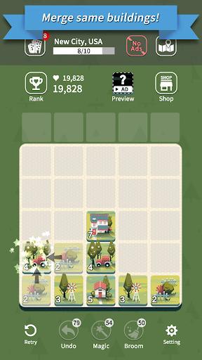 Age of City Tour : 2048 merge screenshots 2