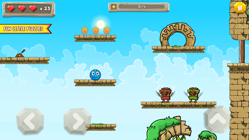 Blue Ball 11: Bounce Ball Adventure 2.1 screenshots 19