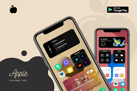 Apple for KWGT APK 2.0 [Paid] Download for Android 8