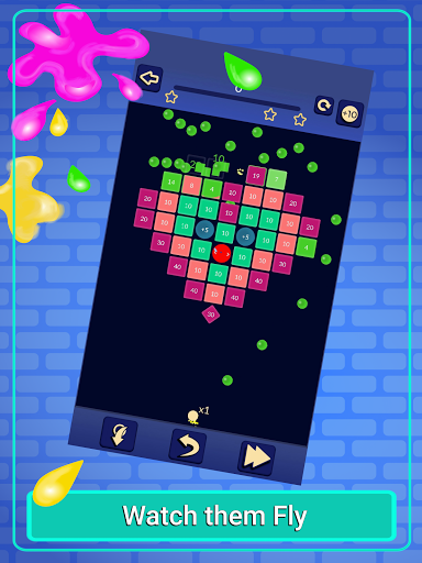 Brick Breaker - Bricks Ballz Shooter apkpoly screenshots 8