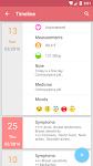 screenshot of Period Calendar Pro - My Calendar