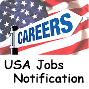 USA Jobs Notification  Icon