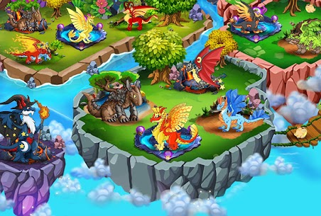 DRAGON VILLAGE Mod Apk -city sim mania (Food/Gems/Coins) 3