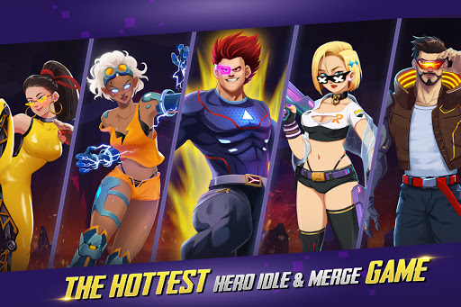 Idle Hero Z - Summon & Merge Cyberpunk 1.0.2 screenshots 15