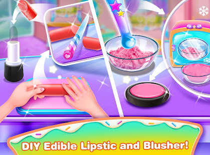 Girl Makeup Kit Comfy Cakes–Pretty Box Bakery Game
