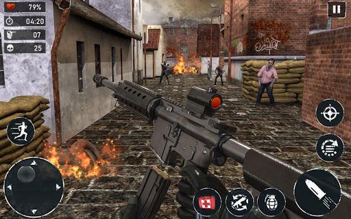 Télécharger gratuit ZOMBIE FPS 2020 - LEFT ALONE 4 DEAD : New Games APK MOD 2