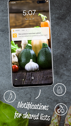 HNGRY - Intelligent shopping list  screenshots 2