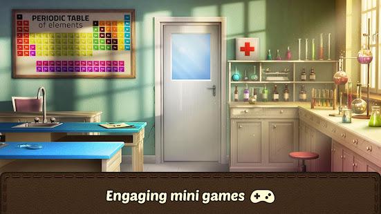 100 Doors Games 2021: Escape from School 3.7.8 Screenshots 3