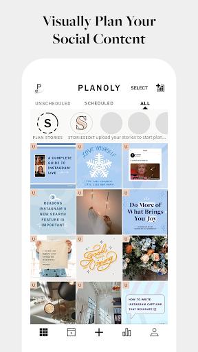PLANOLY: Schedule Posts for Instagram & Pinterest  Screenshots 1