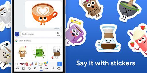 Gboard - the Google Keyboard android2mod screenshots 3