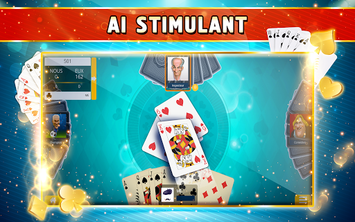 Belote Offline - Single Player Card Game screenshots 12