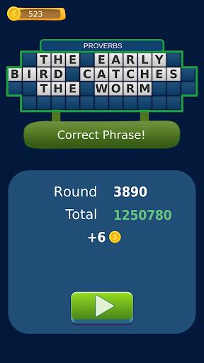word fortune - wheel of phrases quiz screenshot 3