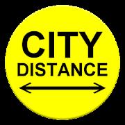 City Distance  Icon
