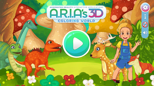 Aria's 3D Coloring World