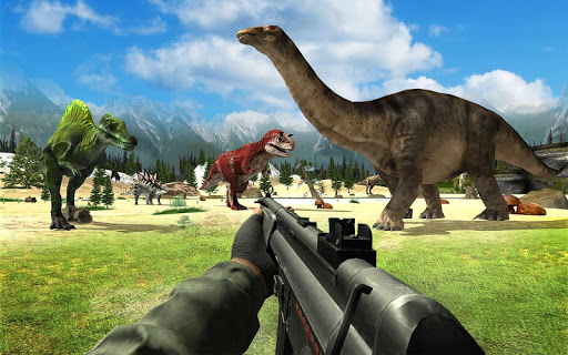 Dinosaur Hunter Sniper Jungle Animal Shooting Game Latest screenshots 1
