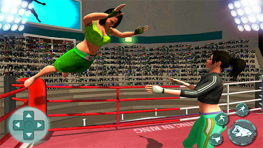 Women Wrestling Stars Action Game:Girls revolution Hack for iOS and Android 3