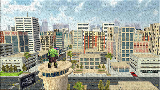 Super City Hero Wars-Super Crime City Battle apkpoly screenshots 5