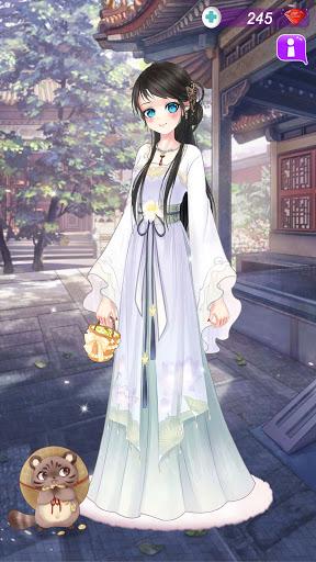 Anime Dress Up Queen Game for girls screenshots 5