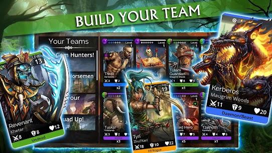 تحميل لعبة Gems of War – Match 3 RPG مهكرة للاندرويد [آخر اصدار] 2
