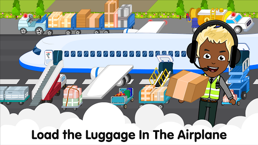 My Airport Town: Kids City Airplane Games for Free 1.6.1 Screenshots 16