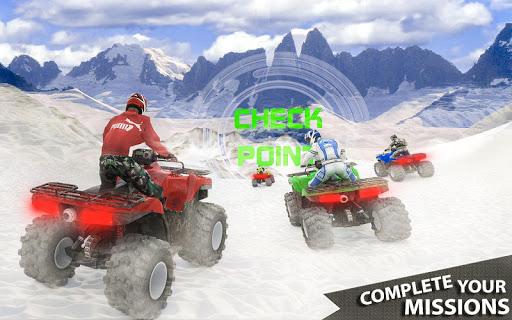 ATV Quad Derby Racing: Snow Trials Bike Xtreme  screenshots 1