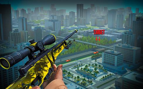 Modern Sniper Shot 3D : Real US Commando Mission 9