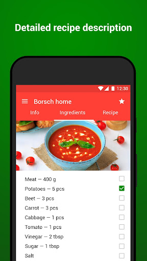 Recipes with photo from Smachno 1.66 Screenshots 2