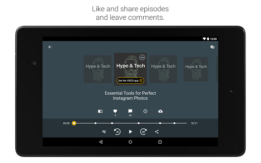 Spreaker Podcast Player - Free Podcasts App 4.15.4 Screenshots 14