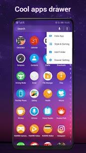 Cool Q Launcher Mod Apk  for Android 10 launcher (Premium Unlocked) 3