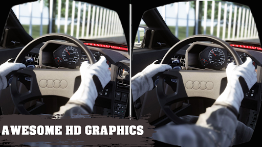 VR Traffic Car Racer 360 screenshots 2