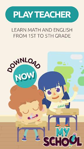 MySchool - Be the Teacher! Learning Games for Kids 3.3.0 Screenshots 1