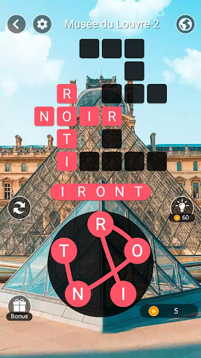 Voyage des Mots -Jeu de Mots Croisu00e9s avec Carte 1.301 de.gamequotes.net 2
