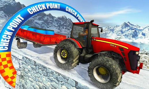 Farm Tractor Cargo Driving Simulator 20 screenshots 5