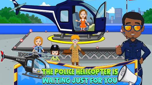 My Town : Police Station. Policeman Game for Kids screenshots 2