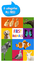 First Words for Baby: Animals screenshot thumbnail