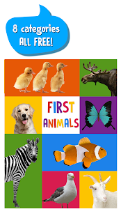 First Words for Baby: Animals