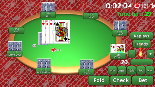 BlueTooth Poker 8 - Texas Holdem Game android2mod screenshots 7